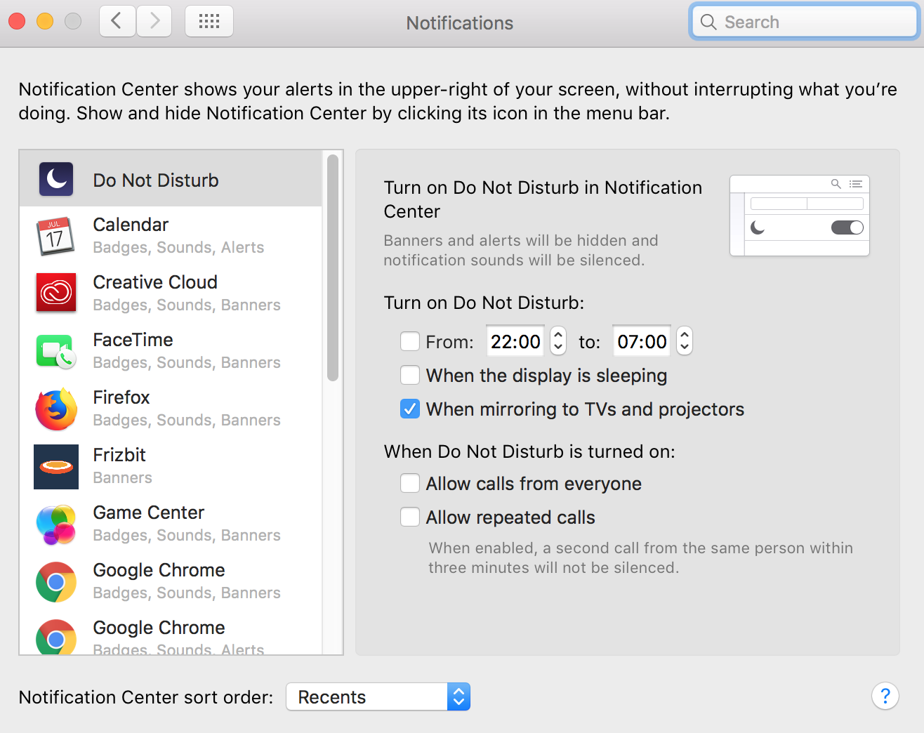 How to Disable Push Notifications on Safari Step 4 (2)
