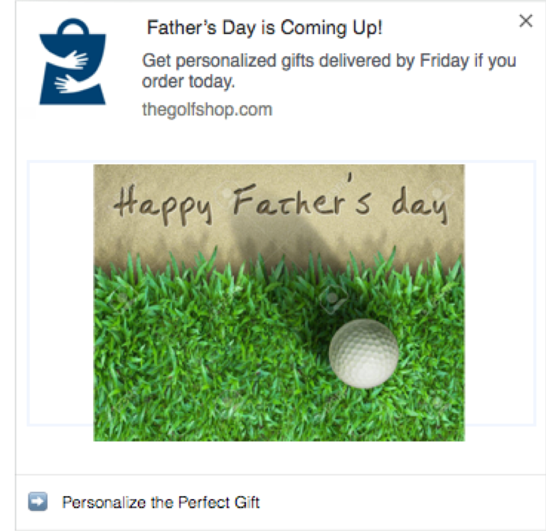 Father's Day Campaign Screenshot