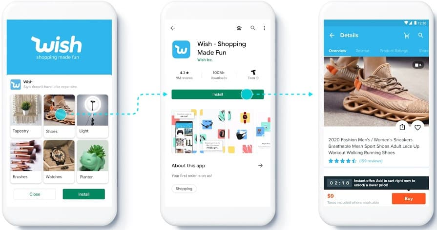 feeds app campaigns