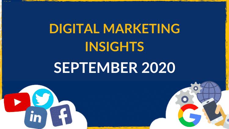 Digital Marketing Insights August