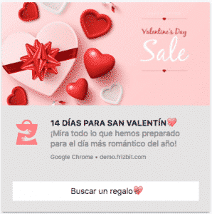 Estrategia de Marketing San Valentín