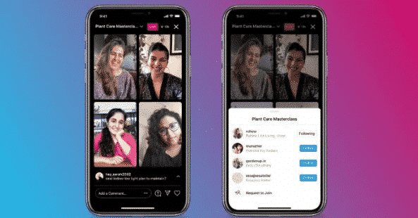 Digital Marketing Updates Instagram Live Chat