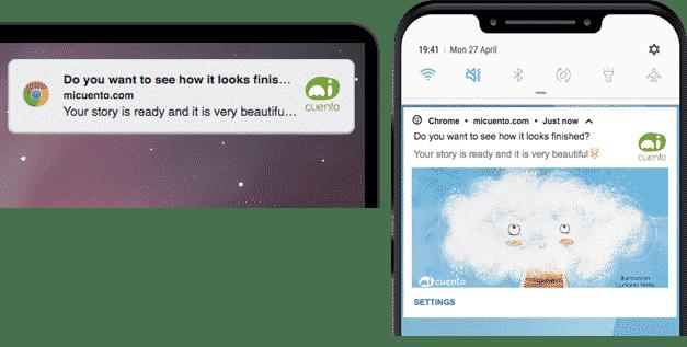 Mobile and Desktop Web Push Notification