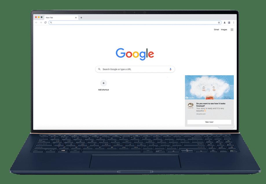 Windows Chrome Web Push Notification