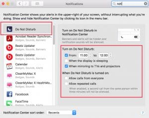 Allow Web Push Notifications mac
