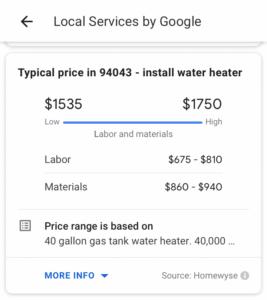 Noticias Marketing Digital Costo Estimado Google