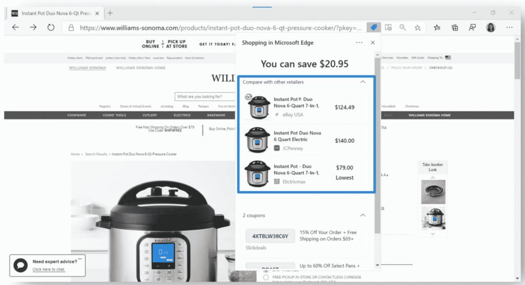 Microsoft Price Comparison