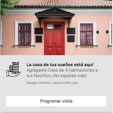 Marketing Inmobiliarias Notificaciones Push Web