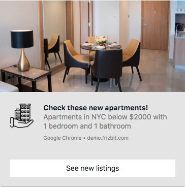 Web Push Notifications for Real Estate