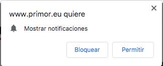 Notificaciones Push Web Opt-in Nativo