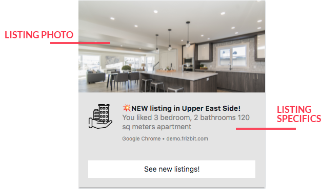 Real Estate Marketing with Web Push Notifications