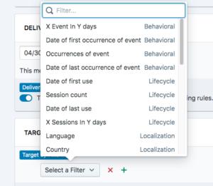 Web Push Notification Segmentation
