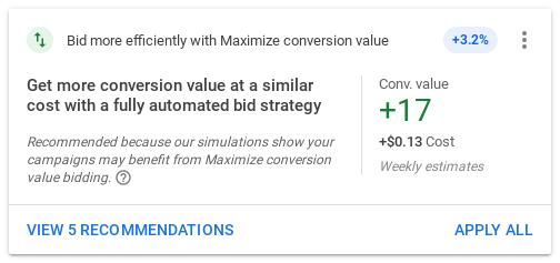 Google Ads Maximize Conversions