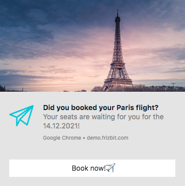 Web Push Travel Industry