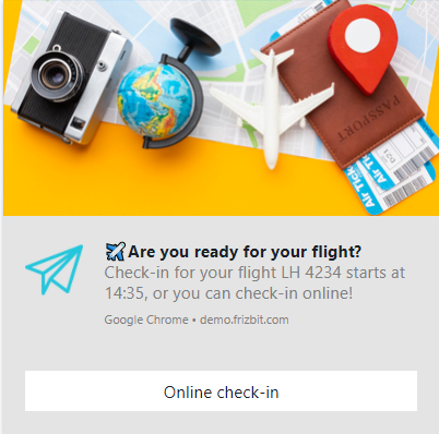 Web Push for the Travel Industry