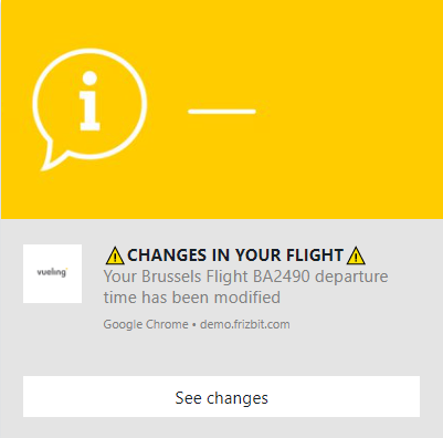 Web Push Notifications for the Travel Industry